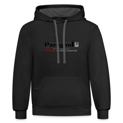 Shop Paragon Investment Partners Gear - Unisex Contrast Hoodie