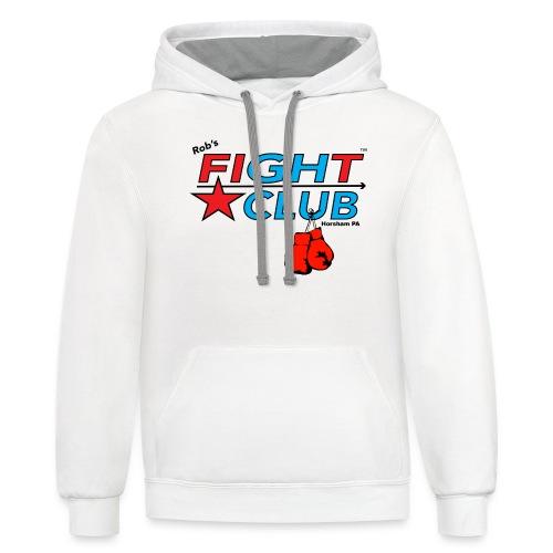 RFC Square Logo w/Gloves - Unisex Contrast Hoodie