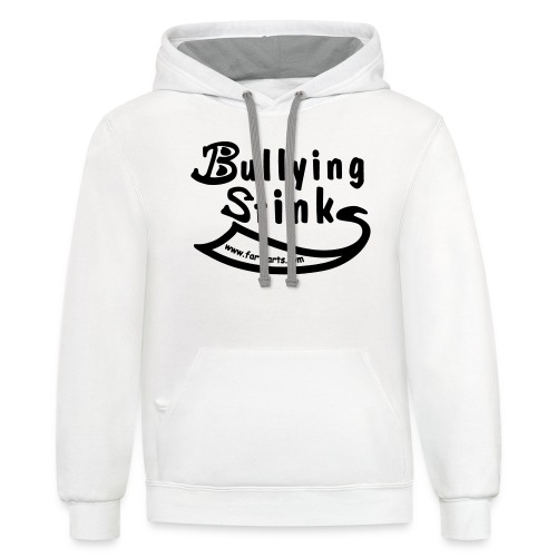 Bullying Stinks! - Unisex Contrast Hoodie