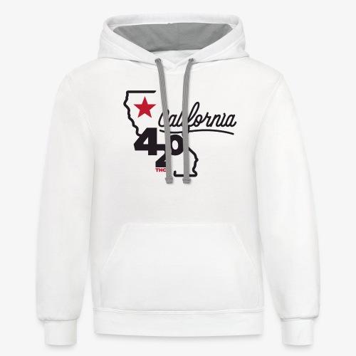 California 420 - Unisex Contrast Hoodie