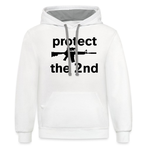PROTECT THE 2ND - Contrast Hoodie