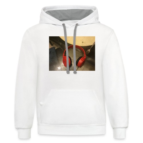 The amazing headphone - Contrast Hoodie