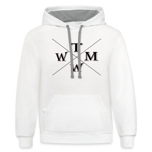 304280864 1023746067 TMWW the star to be - Unisex Contrast Hoodie