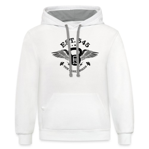 The Early Birds - Unisex Contrast Hoodie