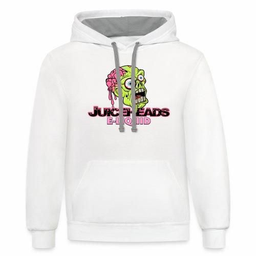 Juiceheads e-Liquid Logo - Unisex Contrast Hoodie