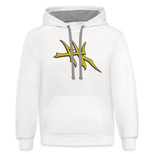 Blayde Symbol (Gold) - Unisex Contrast Hoodie