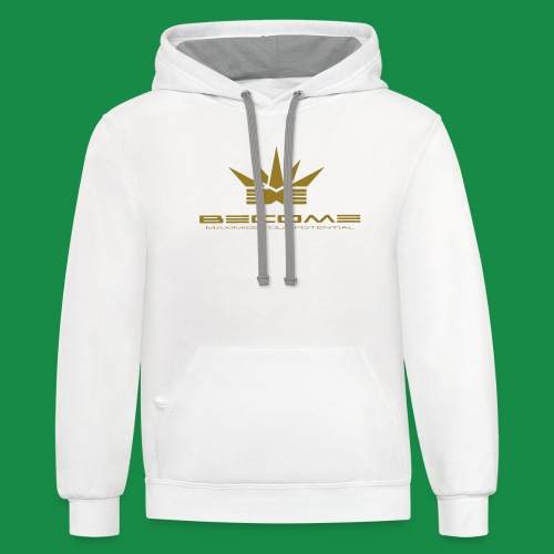 makare GOLD - Unisex Contrast Hoodie