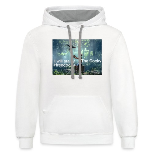 Stalky The Cocky Clothing - Unisex Contrast Hoodie