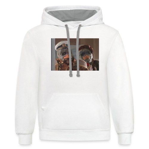 Andrew Taylor the duck - Contrast Hoodie