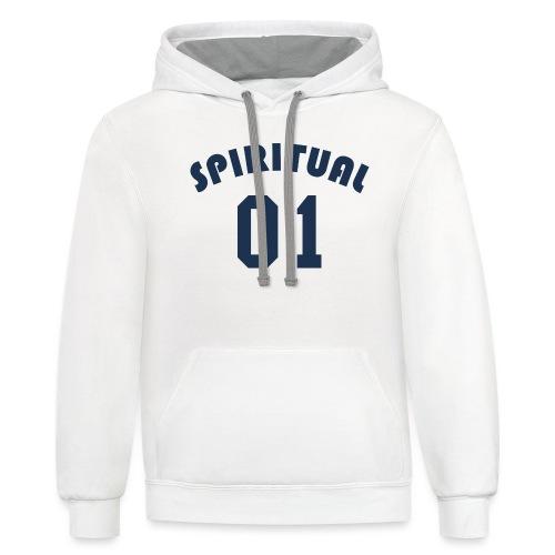 Spiritual One - Contrast Hoodie
