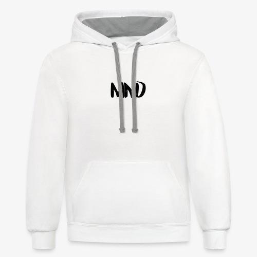 MND - Xay Papa merch limited editon! - Unisex Contrast Hoodie