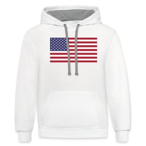 Flag - Contrast Hoodie
