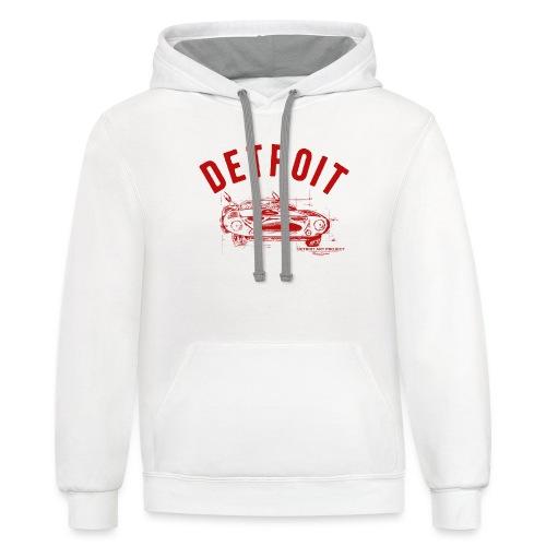 Detroit Art Project - Unisex Contrast Hoodie