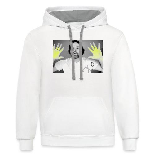 t-shirt - Unisex Contrast Hoodie