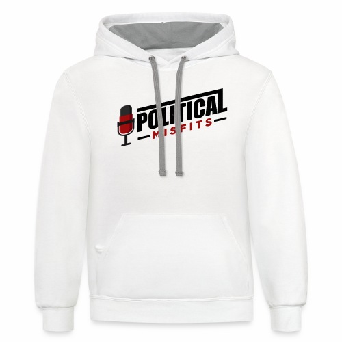 Political Misfits Basic - Unisex Contrast Hoodie