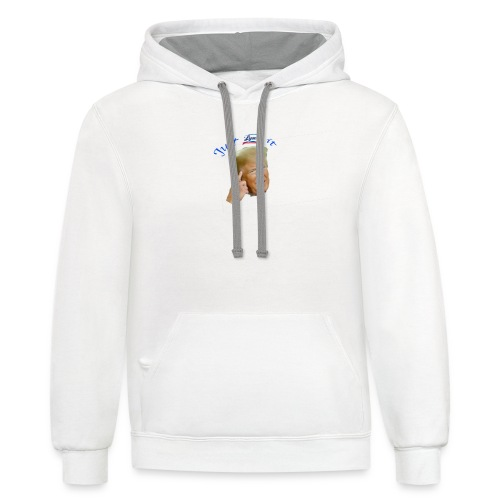 Just Lysol It with Trump - Unisex Contrast Hoodie