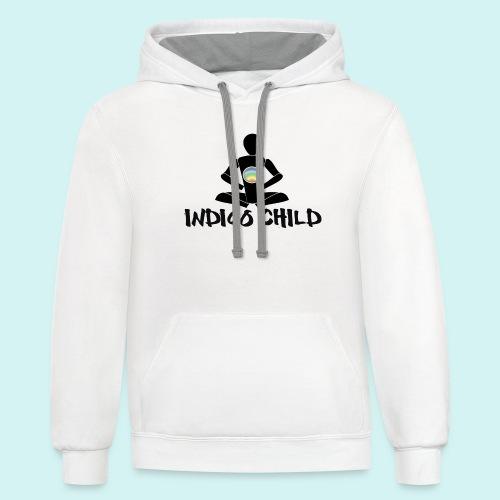 Indy Child Basic - Unisex Contrast Hoodie