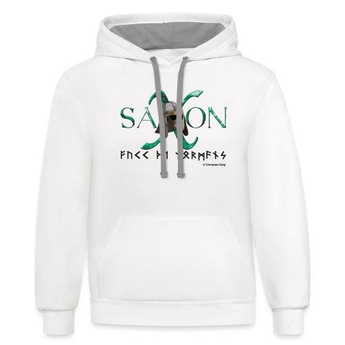 Saxon Pride - Unisex Contrast Hoodie