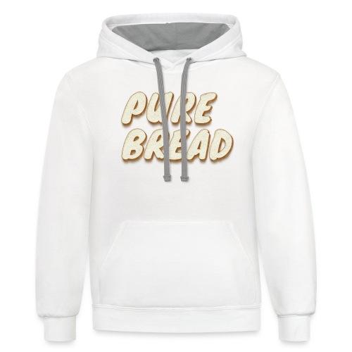 Pure Bread - Unisex Contrast Hoodie