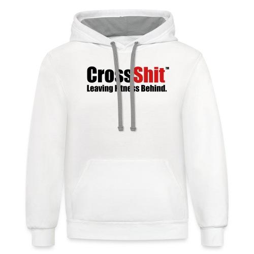 Original CrossShit Shirt - Contrast Hoodie
