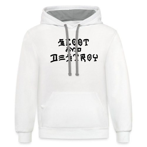Scoot and Destroy - Contrast Hoodie