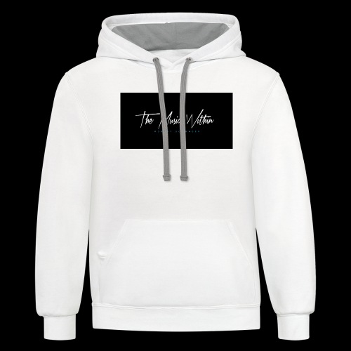 the music within mens hoodie - Unisex Contrast Hoodie