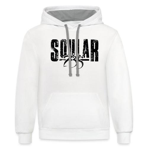 Soular235 (Logo) - Unisex Contrast Hoodie