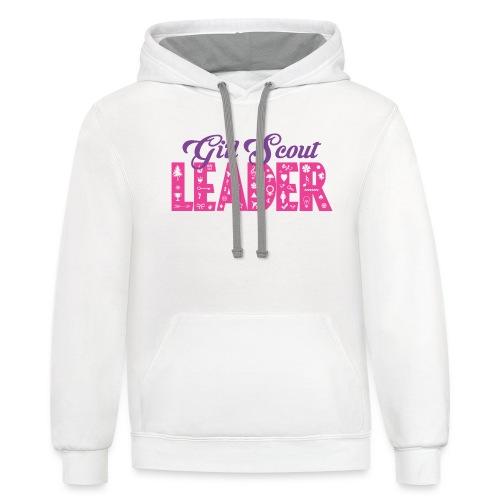 Girl Scout Leader - Contrast Hoodie