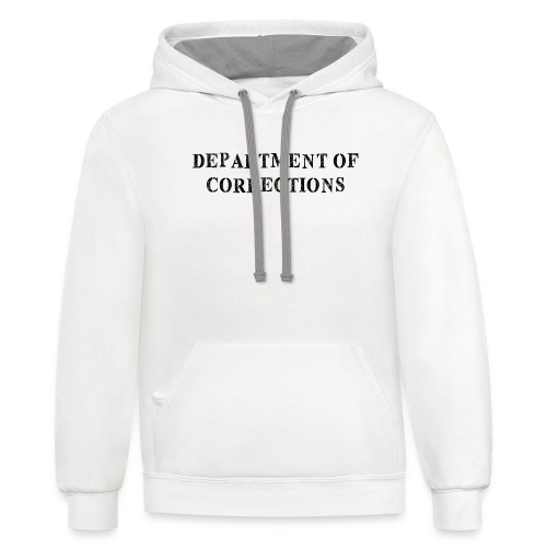 Department of Corrections - Prison uniform - Contrast Hoodie