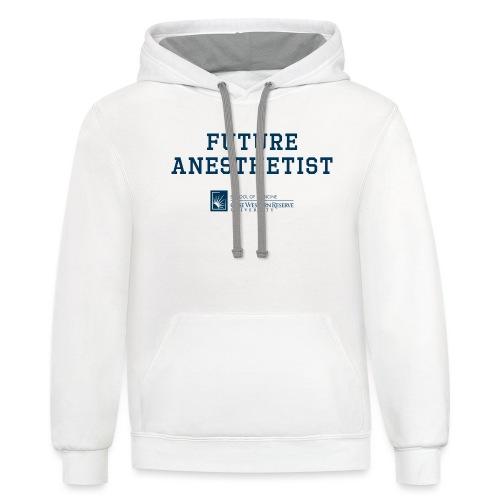 Future Anesthetist - Unisex Contrast Hoodie