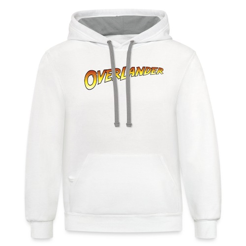 Overlander - Autonaut.com - Unisex Contrast Hoodie