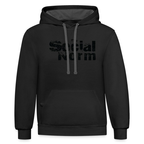 The Social Norm Official Merch - Contrast Hoodie