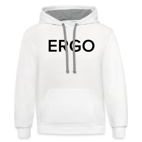 ERGO - Unisex Contrast Hoodie