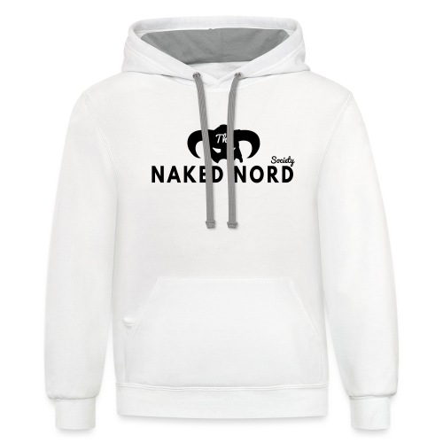 The Naked Nord Society - Unisex Contrast Hoodie