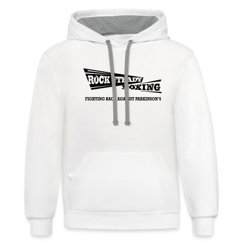 I Am Rock Steady T shirt - Contrast Hoodie