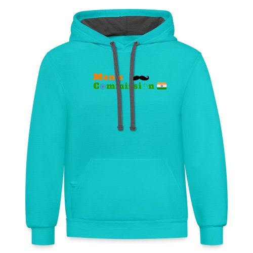 Mens Commission India - Unisex Contrast Hoodie