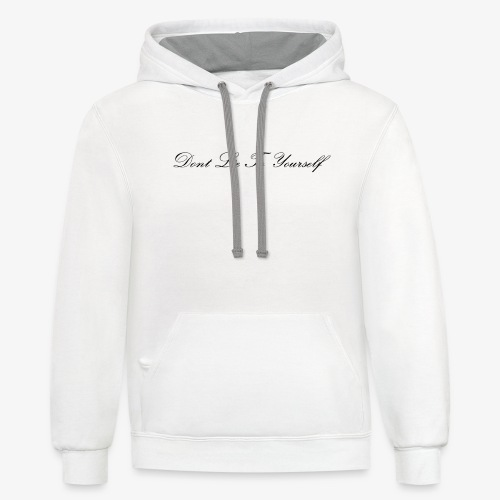 Dont Lie To Yourself - Unisex Contrast Hoodie