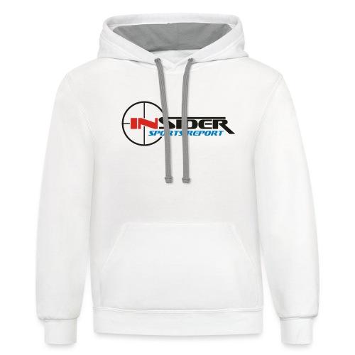 Insider Sports Report Merchandise - Unisex Contrast Hoodie