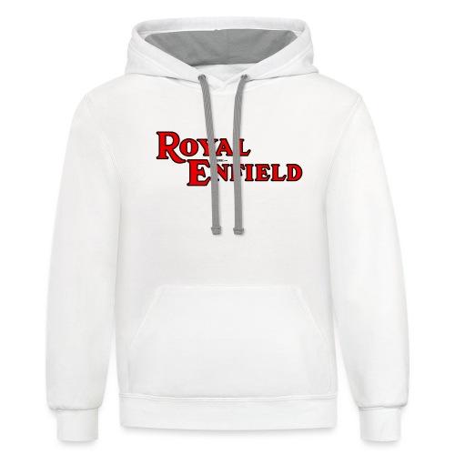 Royal Enfield - AUTONAUT.com - Unisex Contrast Hoodie