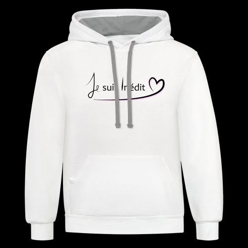 I'm new - Contrast Hoodie
