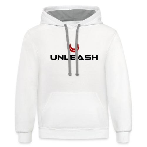 Unleash Energy - Unisex Contrast Hoodie