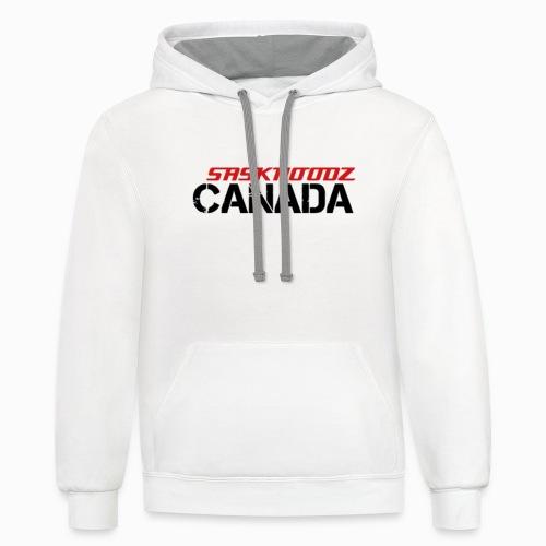 saskhoodz canada - Unisex Contrast Hoodie