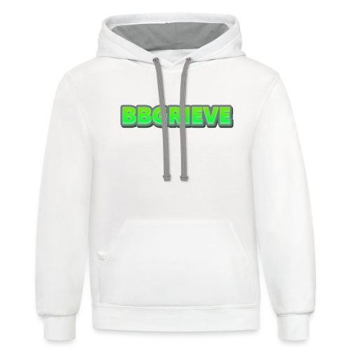 BBGrieve Large Logo - Contrast Hoodie