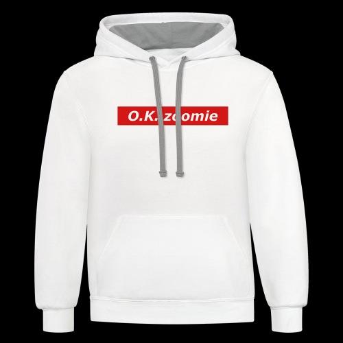 IOK Supre - Contrast Hoodie