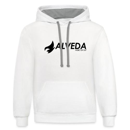 Alveda Music Group 2017 - Unisex Contrast Hoodie