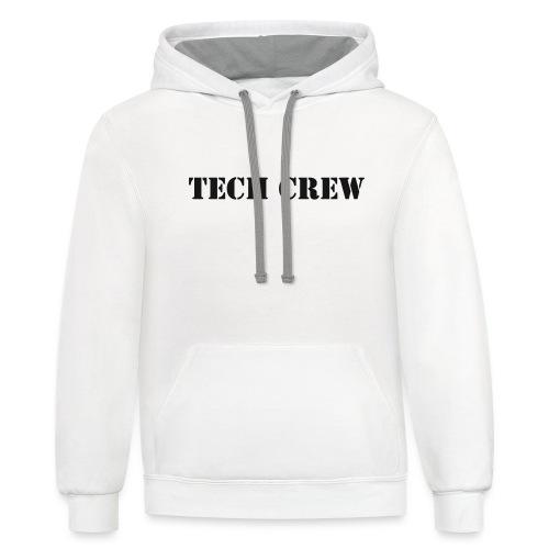 Tech Crew - Unisex Contrast Hoodie