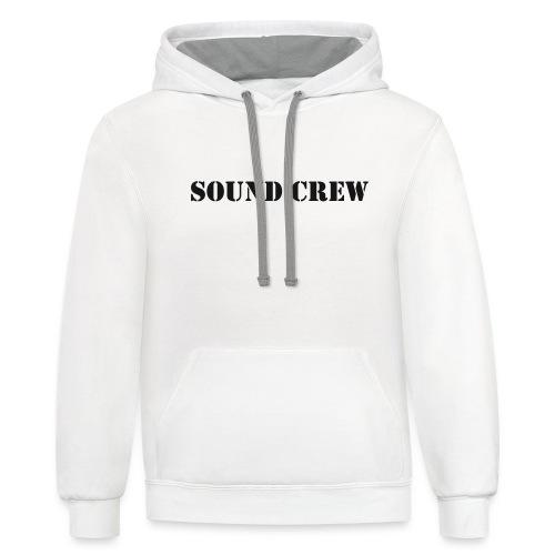 Sound Crew - Unisex Contrast Hoodie