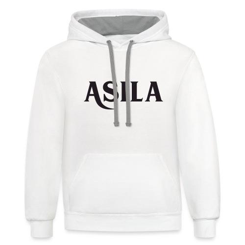 Asila - Unisex Contrast Hoodie