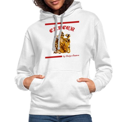 CANCER RED - Contrast Hoodie