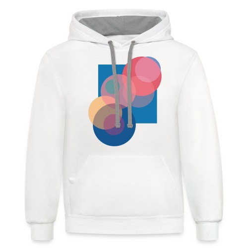 Just That Clean Bubble - Unisex Contrast Hoodie
